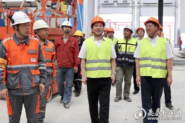 得知GONVVAMA娄底ATS项目二期能够按计划竣工投产,李荐国非常高兴