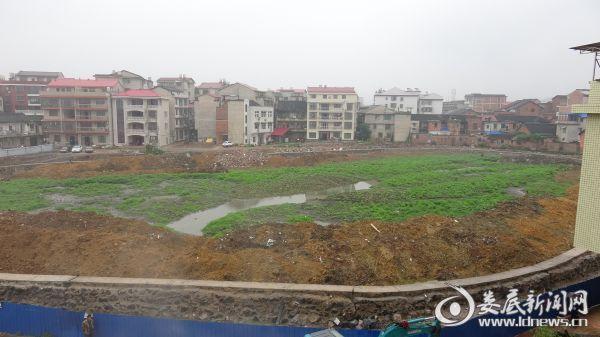 白燕塘项目改造中