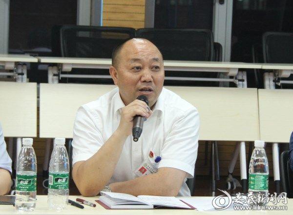 党委书记倪志铭讲话