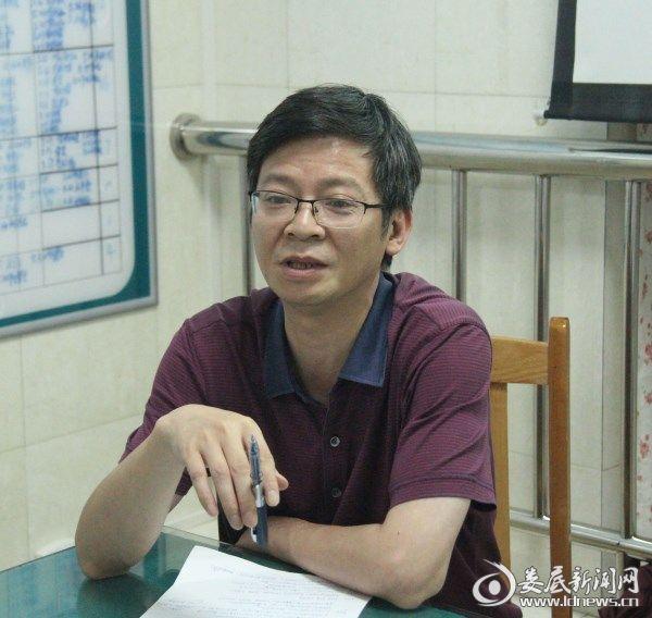 党委委员、副院长龚铁逢讲话
