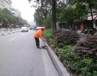 端午节:市民忙购物 环卫忙清扫