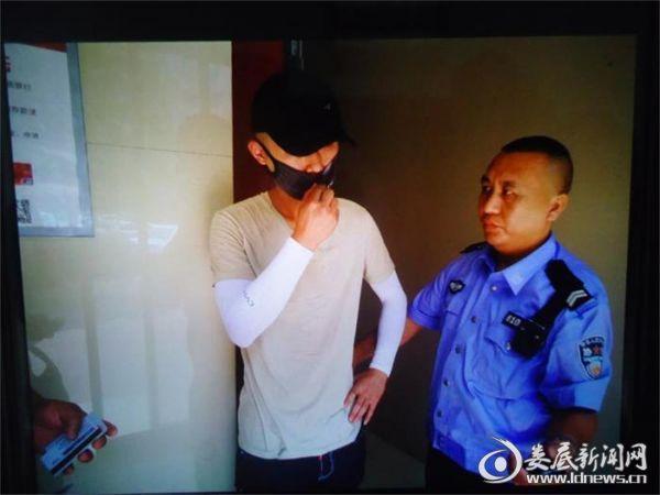 巡逻处警大队成功抓获一名涉嫌电信诈骗嫌疑人