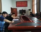 新化县政府办领导现场调度强制戒毒所重点建设项目