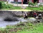 山塘清淤废变宝 为有源头活水来