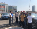 娄底经开区投资集团领导慰问湘阳东街顶目部一线施工人员