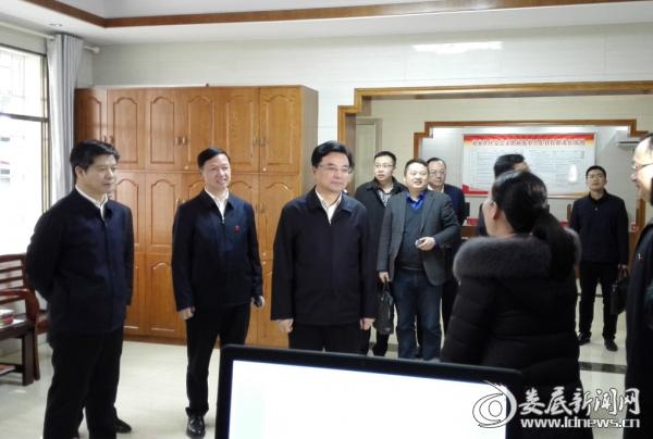 2省委常委、组织部长王少峰到童家社区调研基层党建及社区换届选举工作