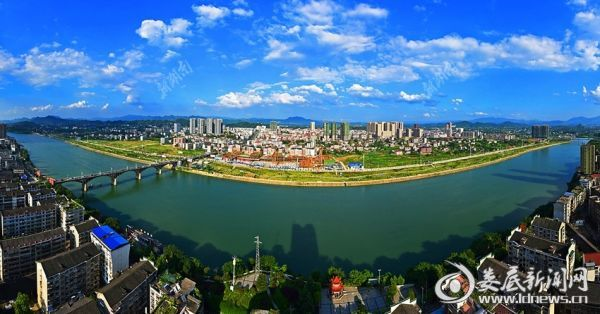 新化县城区风貌