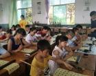 长沙潭州墨阵书法家深入新化十六中开展书法公益支教活动