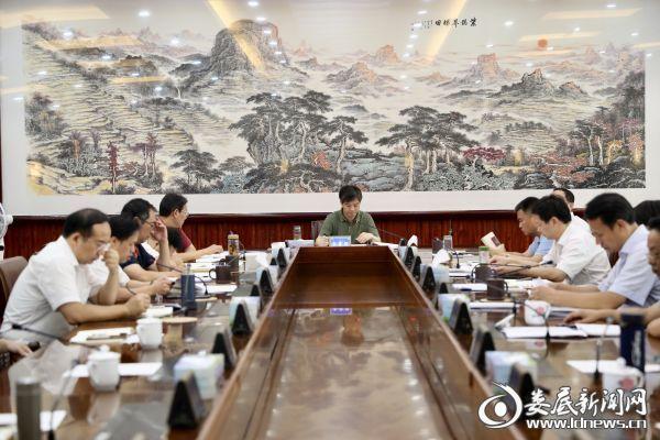 与会人员原原本本学习了习近平总书记对湖南工作重要讲话指示精神