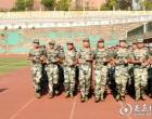娄底五中举行2018级高一新生军训会操比武暨总结表彰大会