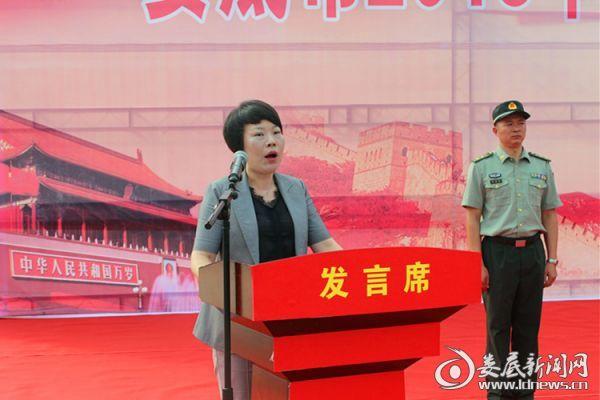 市委常委、常务副市长张希慧讲话