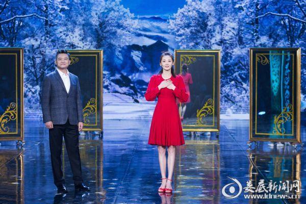 苗苗登央视教师节晚会