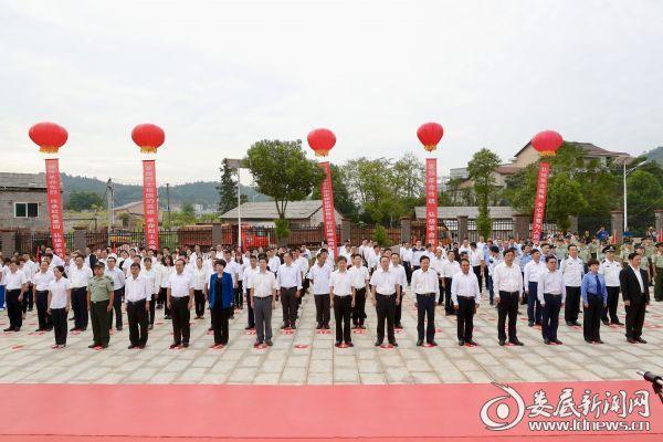 全国第5个烈士纪念日,娄底隆重举行向革命烈士敬献花篮仪式