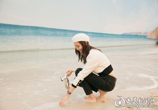 张钧甯巴黎时装周2