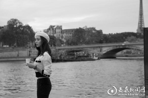 张钧甯巴黎时装周6