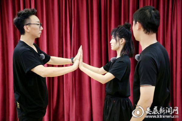 (苏青带丁丁张体验表演课)