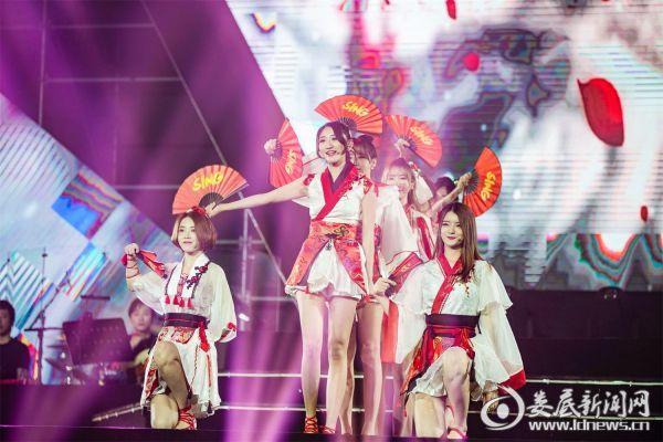 1 封面图:SING女团参与国风音乐盛典