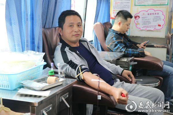 2.多次参与献血的刘丙中老师