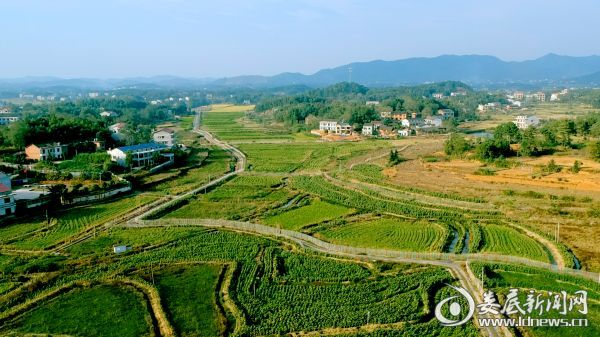 省级同心美丽乡村双峰县嘉园村