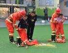 双峰县机关幼儿园消防安全宣传教育周活动精彩纷呈
