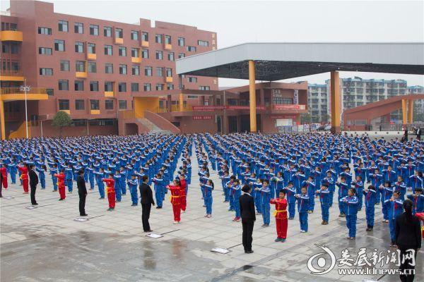 新化县中小学校深入推进武术进校园