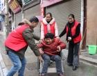 """永丰镇天青社区举行残疾人文化进家庭""""五个一""""活动"""