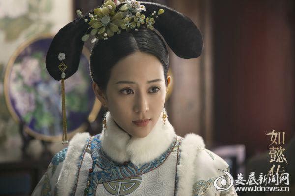 (《如懿传》张钧甯饰演海兰)