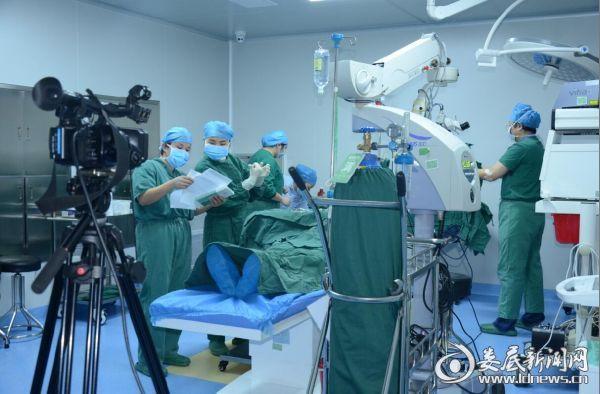 手术过程通过网易直播平台全程直播