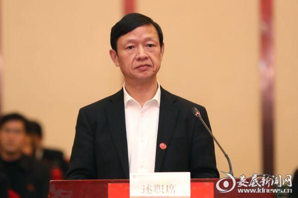 """娄底12名党(工)委书记向市委述职 晒晒大家的""""成绩单"""""""