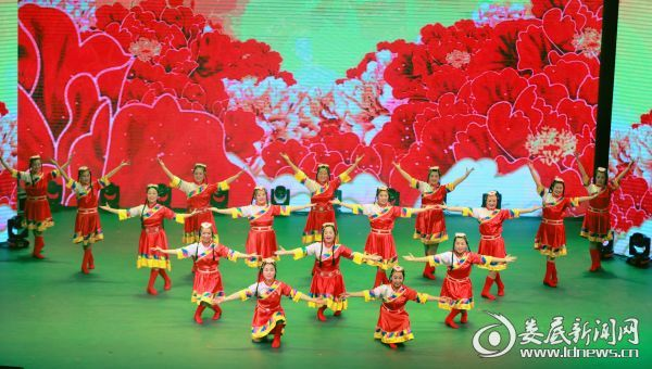 藏族舞《再唱山歌给党听》(二)