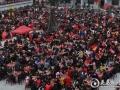 娄底一村庄摆上400桌新春团拜宴 4000村民集体过年乡愁浓