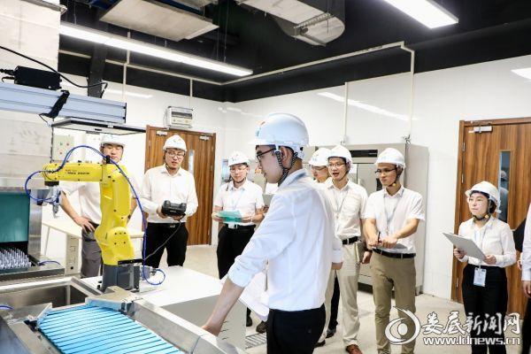 博智林機器人公司實驗室