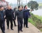 王雄率队侧水河巡河:守护好一江碧水两岸青山