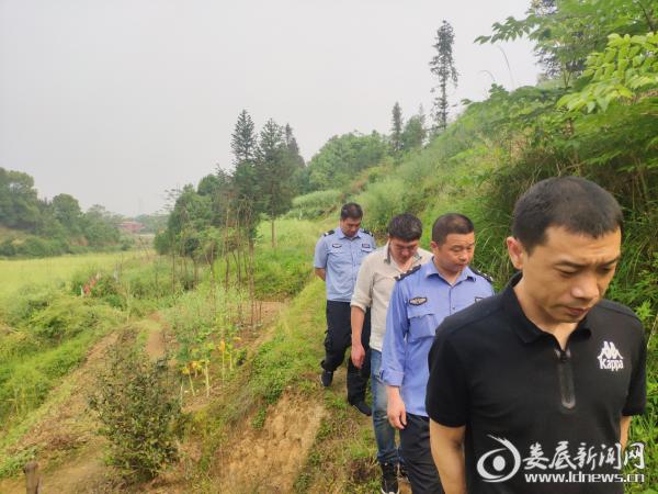 杨市镇持续开展禁种铲毒地毯式踏查行动