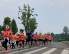 """娄底市微马跑步协会组织举行""""母亲节 为爱奔跑""""活动"""