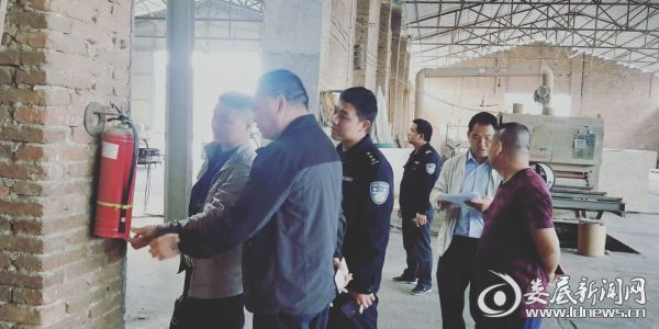 梓门桥镇消防安全检查图片-0513-1