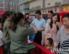 """新化县城区集中开展第18个""""安全生产月""""咨询日活动"""