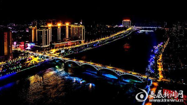 新化资江河畔