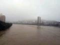 资水今年最大洪峰正在通过冷水江 最高水位达到177.49米