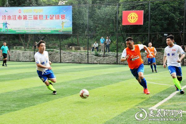 7月26日晚,湖南博长控股集团队Vs金电队比赛。熊又华 摄DSC_6849