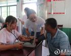 """南华大学""""三下乡"""" 助力古塘健康扶贫基地建设"""