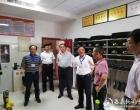 省卫生工会主任刘后红一行来娄调研安全生产和扫黑除恶工作