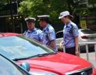 冷水江市交警大队全面发力 打好国庆安保攻坚战