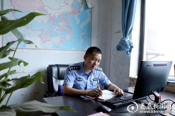 <b>【寻找最美基层民警】陈辉:要一辈子当好一名人民警察</b>