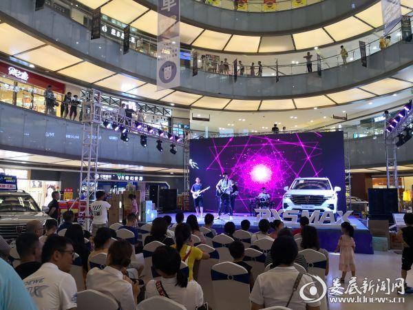 榮威RX5 MAX全新智聯網硬核中型SUV婁底耀世登場