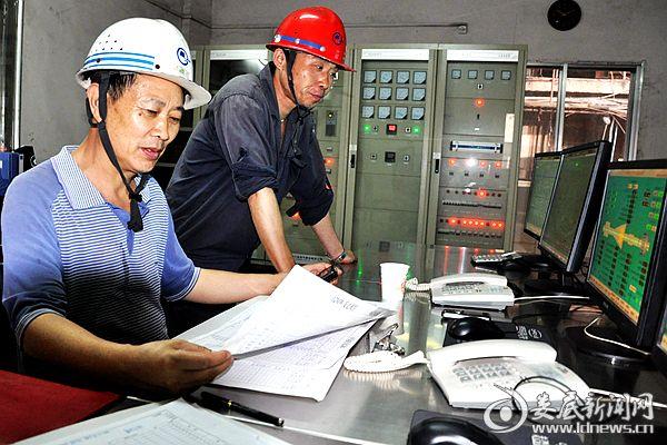 湖南博长控股集团冷钢年自发电量突破6亿千瓦时,年创效超3亿元。熊又华 摄DSC_8956