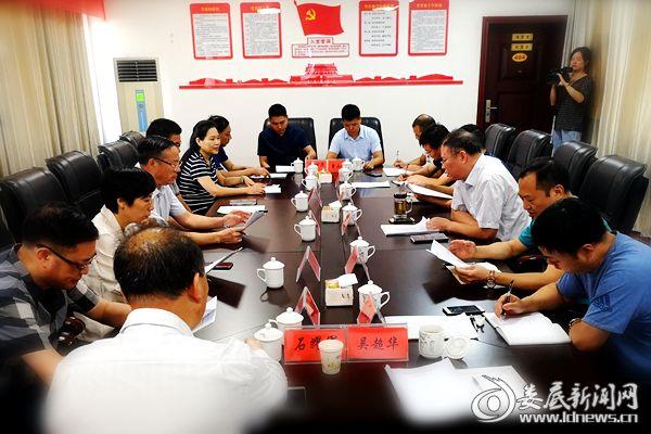 冷水江市人大常委会议听取市总工会关于《工会法》落实情况汇报现场。DSC_8038