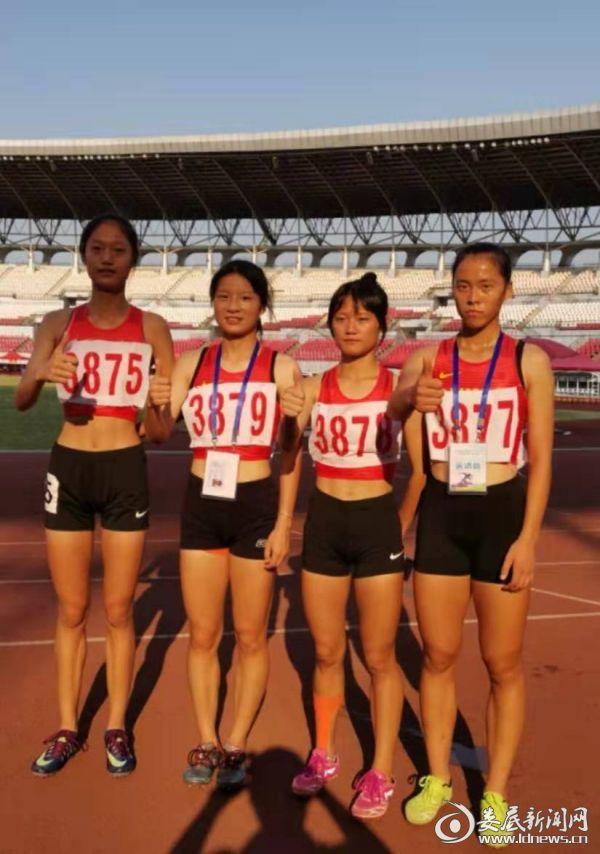 4乘400米接力赛金牌获得者