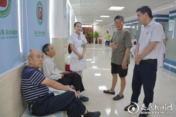 娄星区人民医院健康体检为离退休老干部们健康把关