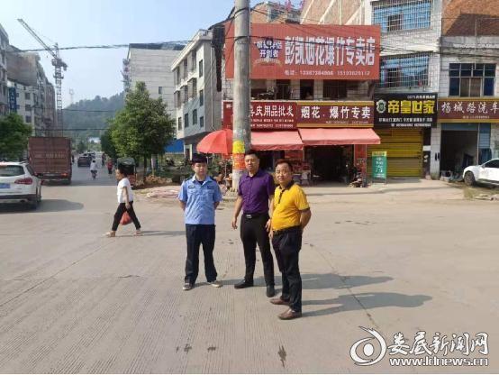 """杨市镇:中秋""""我""""坚守 节日保平安"""